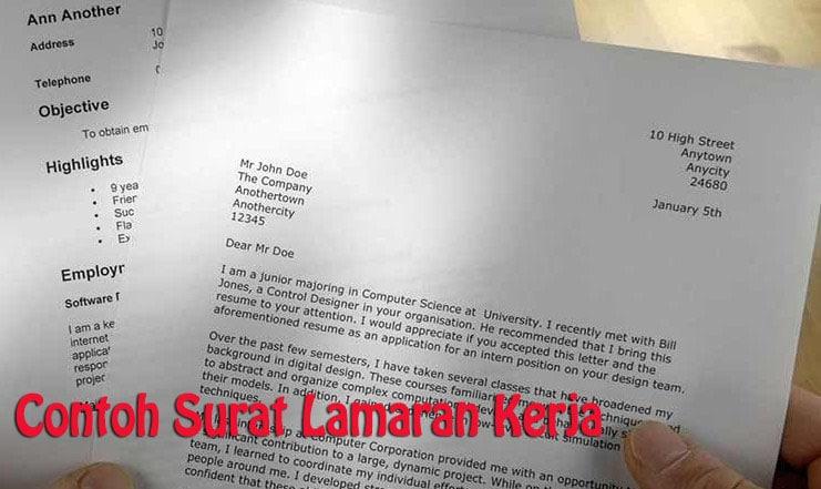 Surat Lamaran Kerja Pengertian Unsur Ciri Ciri Jenis Cara Membuat Surat Lamaran Kerja Dan Contohnya Softonic Co Id